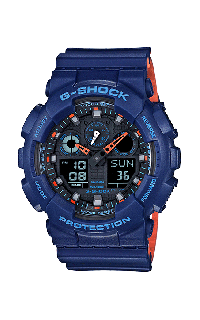 G-Shock Analog-Digital GA100L-2A