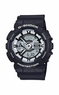 G-Shock Watch GA110BW-1A product image