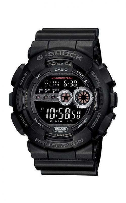 G-Shock Digital Watch GD100-1B product image