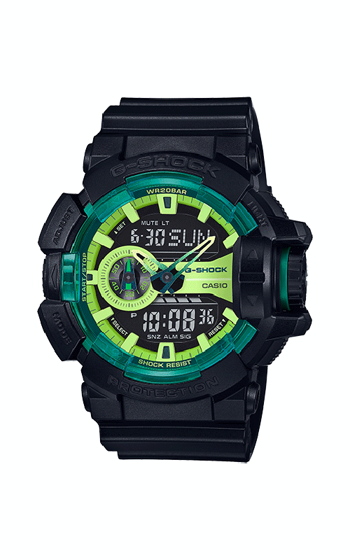 G-Shock Watch GA400LY-1A product image