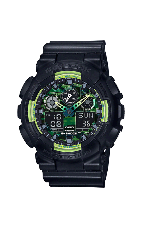G-Shock Watch GA100LY-1A product image