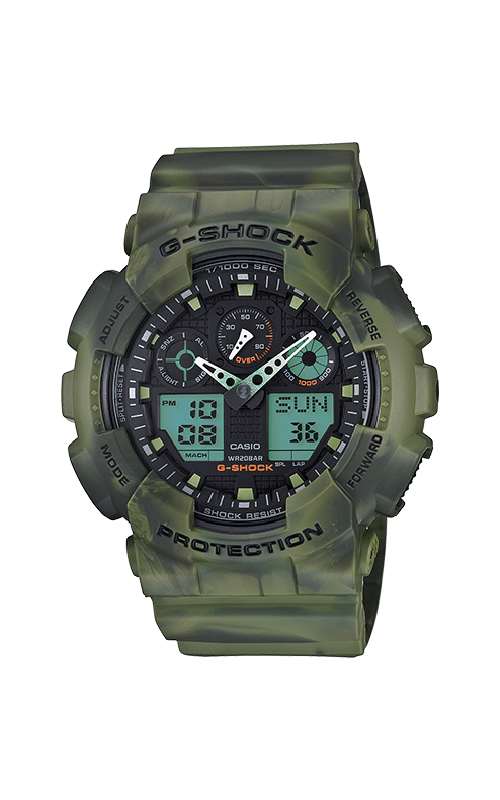G-Shock Watch GA100MM-3A product image