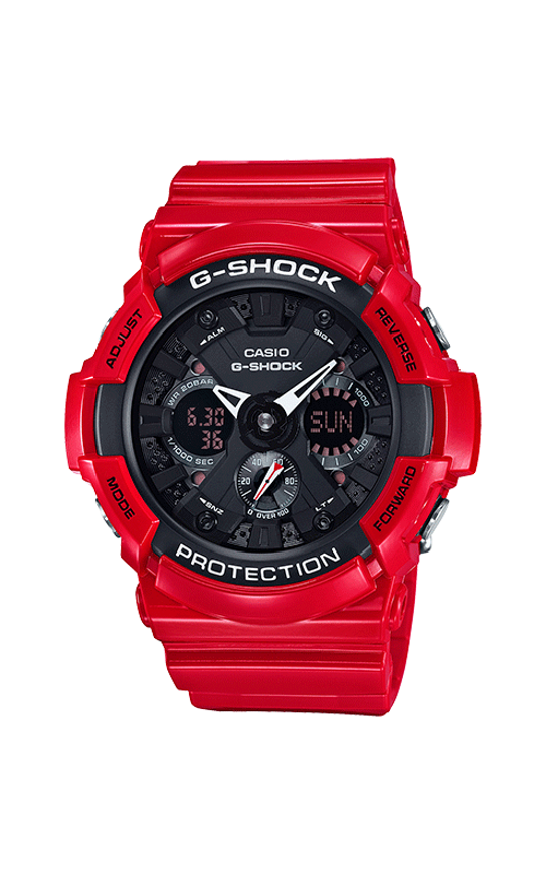 G-Shock Watch GA201RD-4A product image