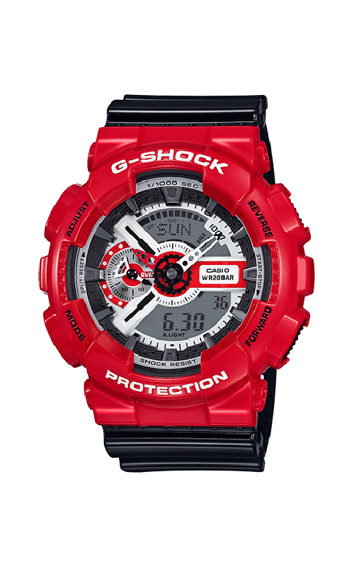 G-Shock Watch GA110RD-4A product image