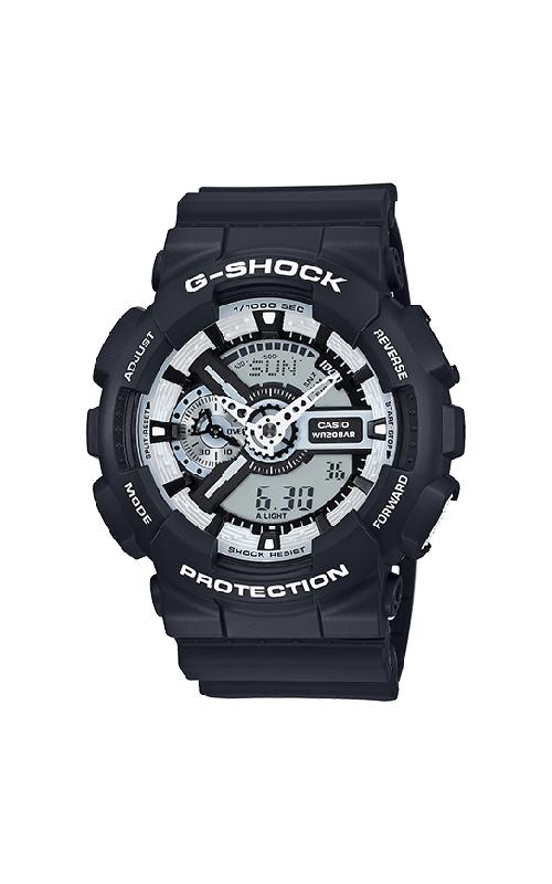 G-Shock Watch GA110BW-1A product image