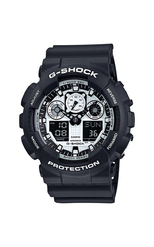 G-Shock Watch GA100BW-1A product image