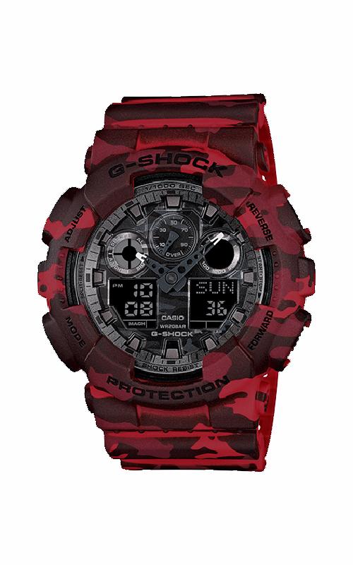 G-Shock Watch GA100CM-4A product image
