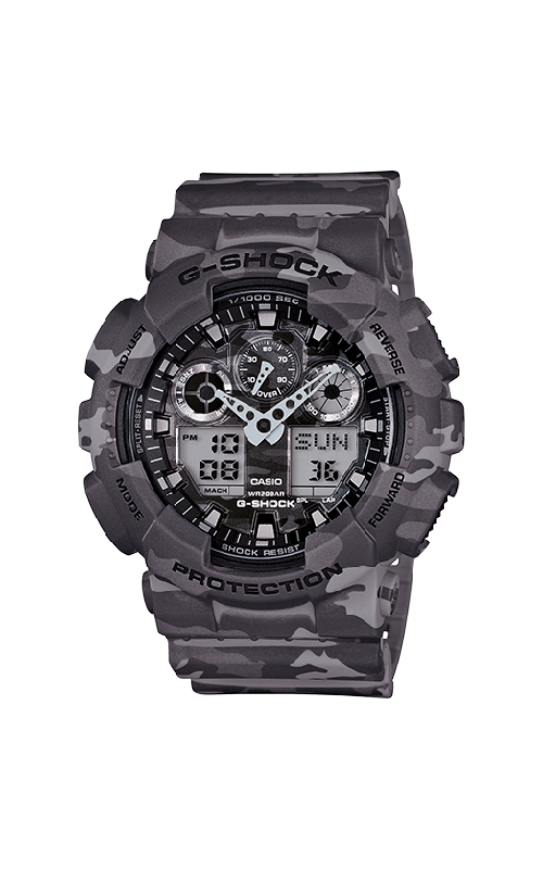 G-Shock Watch GA100CM-8A product image