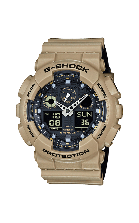 G-Shock Analog-Digital GA100L-8A product image