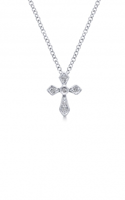 Gabriel and Co Faith Necklace NK4619W45JJ product image