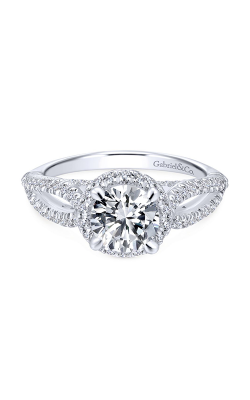 Gabriel New York Entwined Engagement ring ER12601R4W44JJ product image