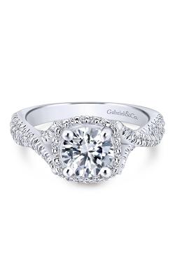 Gabriel New York Rosette Engagement ring ER12680R4W44JJ product image