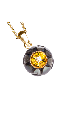 Galatea Heart Of Gold Necklace DIP-102T product image