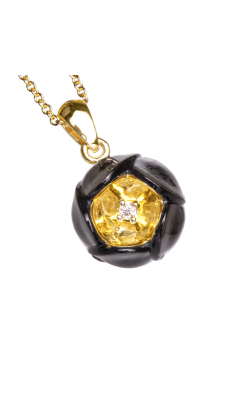 Galatea Heart Of Gold Necklace DIP-106T product image