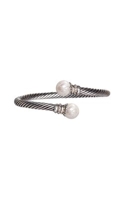Galatea Carved Pearl & Sterling Bracelet 8004BW product image