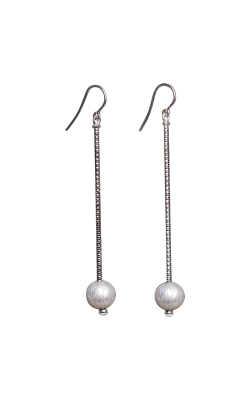 Galatea Carved Pearl & Sterling Earring 8003EW product image
