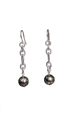 Galatea Carved Pearl & Sterling Earring 8013ET product image