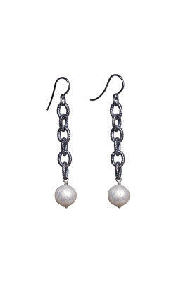Galatea Carved Pearl & Sterling Earring 8014EW product image