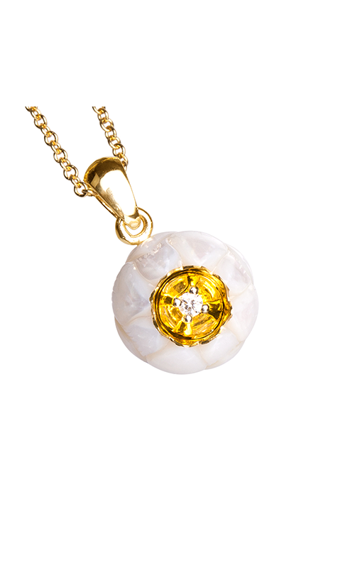 Galatea Heart of Gold Necklace DIP-102 product image