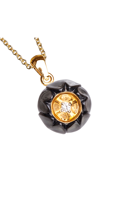 Galatea Heart of Gold Necklace DIP-104T product image