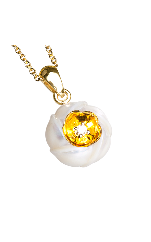 Galatea Heart of Gold Necklace DIP-106 product image
