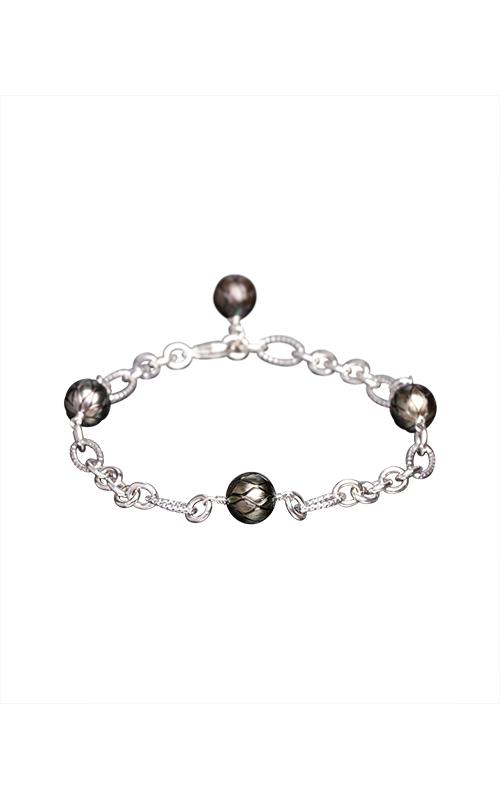 Galatea Carved Pearl & Sterling Bracelet 8013BT product image