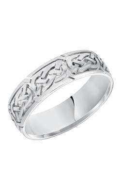 Goldman Engraved Wedding Band 11-7159W-G product image