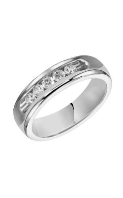 Goldman 6MM CF Diamond Wedding Band 21-14786W-G product image