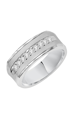 Goldman 7MM Diamond Wedding Band 21-14881W-G product image