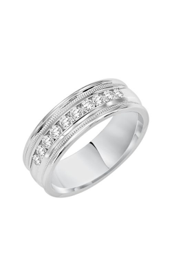 Goldman 6.5MM CF Diamond Wedding Band 22-14894W-G product image