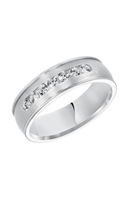 Goldman 7MM CF Diamond Wedding Band 22-8105W-G product image
