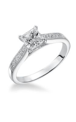 Goldman White Gold Engagement Ring 31-528ECW-E product image
