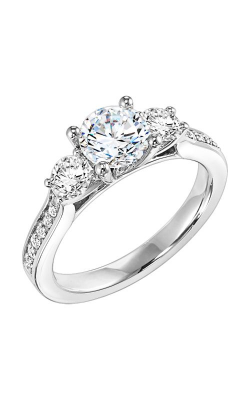 Goldman White Gold Engagement Ring 31-503ERW-E product image