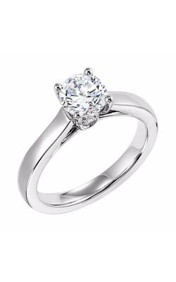 Goldman White Gold Engagement Ring 31-505ERW-E product image