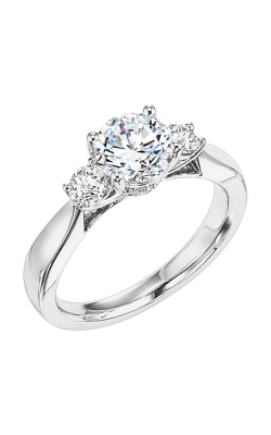 Goldman White Gold Engagement Ring 31-568ERW-E product image