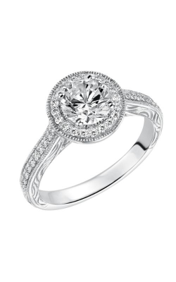 Goldman White Gold - A Engagement Ring 31-603ERW-E product image