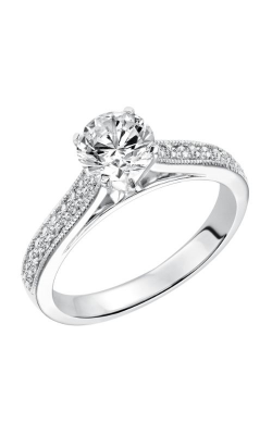 Goldman White Gold - A Engagement Ring 31-615ERW-E product image