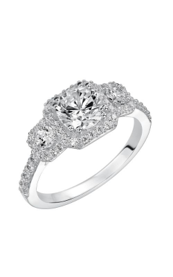 Goldman White Gold - A Engagement Ring 31-755ERW-E product image