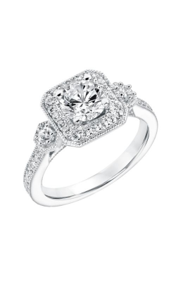 Goldman White Gold Engagement Ring 31-11011ERW-E product image