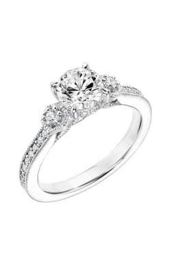 Goldman White Gold Engagement Ring 31-11013ERW-E product image