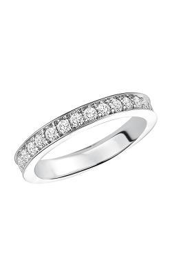 Goldman Bead Set Full Round Wedding Band 33-65C4W65-L product image