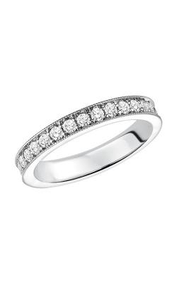 Goldman Bead Set Full Round Wedding Band 33-70B4W65-L product image