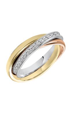 Goldman 3 Tone Rolling Wedding Band 33-8417W-L product image