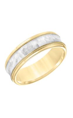 Goldman Engraved Wedding Band 11-8664YW7-G product image