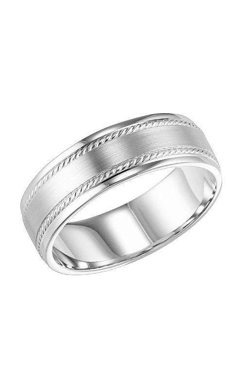Goldman Engraved Wedding Band 11-8160W7-G product image