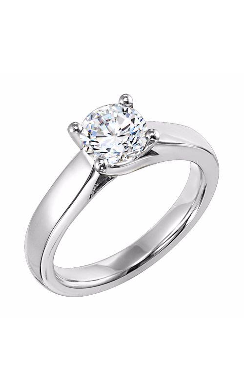 Goldman White Gold Engagement Ring 31-518ERW-E product image
