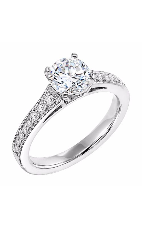 Goldman White Gold Engagement Ring 31-536ERW-E product image