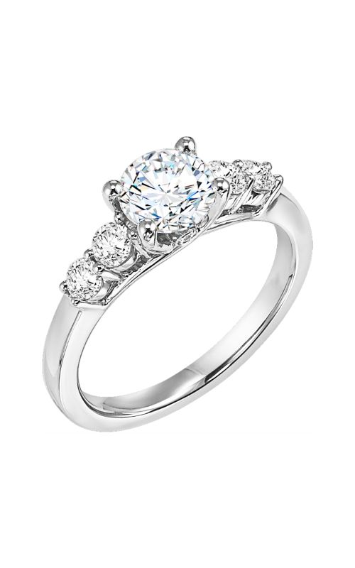 Goldman White Gold Engagement Ring 31-540ERW-E product image