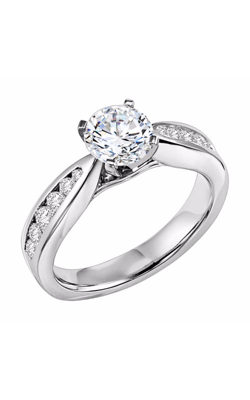 Goldman White Gold Engagement Ring 31-543ERW-E product image
