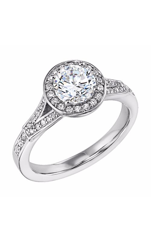 Goldman White Gold Engagement Ring 31-546ERW-E product image